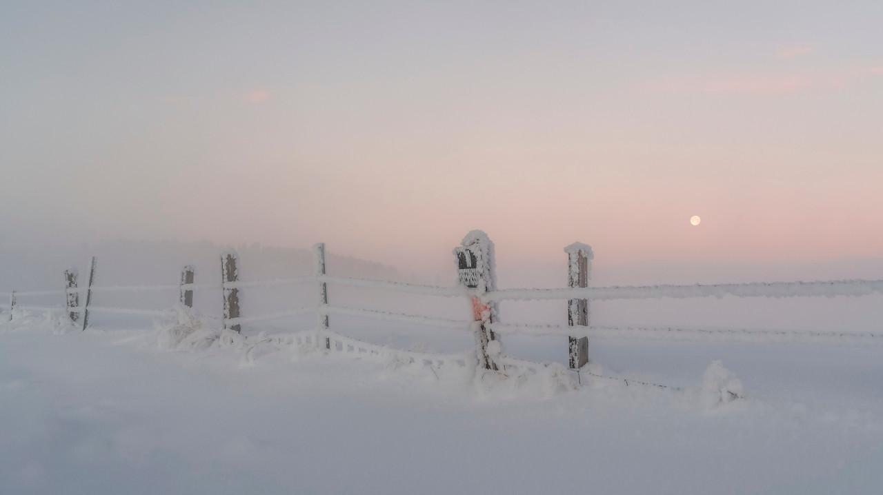 Pink Sunrise Panorama