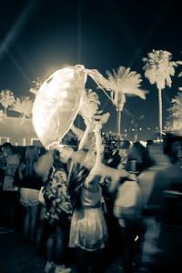 Girl, Umbrella & Coachella