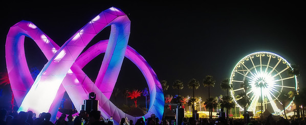 Light Installations @ Coachella