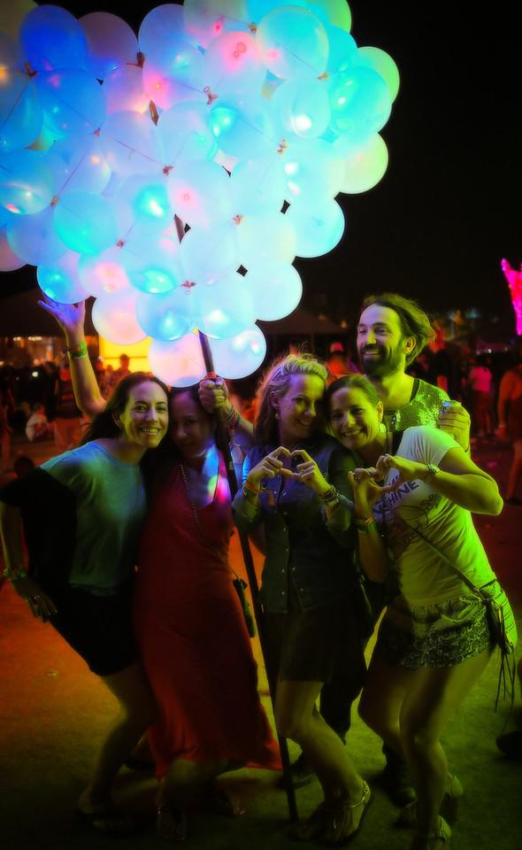 Girls, Balloons & Coachella
