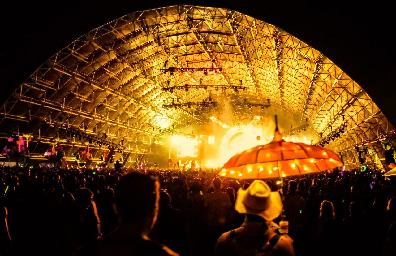 Sahara Tent @ Coachella
