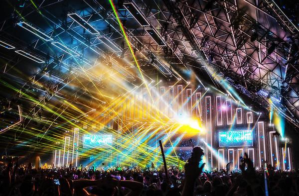 Coachella Lightshow