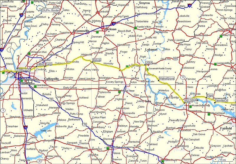 Day 2<br /> Rogersville, AL to Memphis, TN