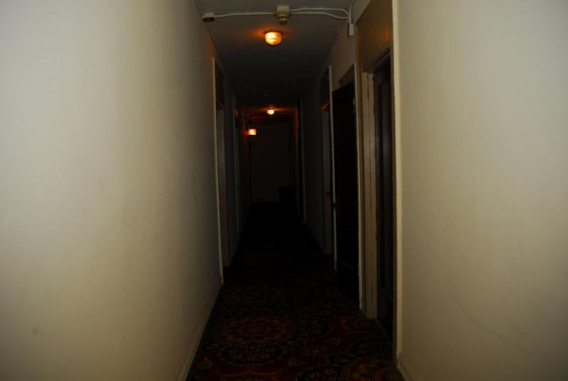 Creepy hallway in the Hotel Tokyo...