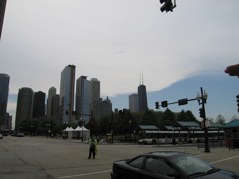 Just outside the Navy Pier
