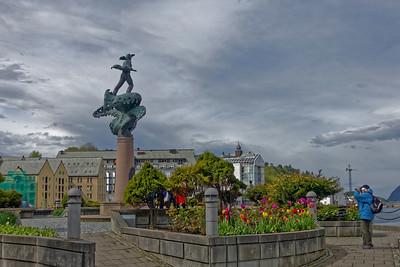 England Farten memorial, Alesund.