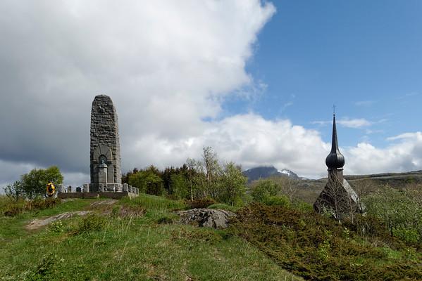 Petter Dass memorial.