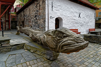 Lutefisk, Bergen.