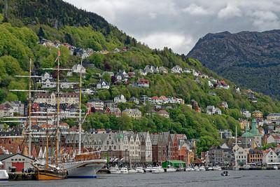 Bergen Harbour.