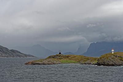 Arctic Circle marker, Norway.