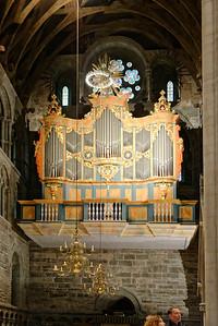 Wagner-organ, Nidaros Cathedral, Trondheim.