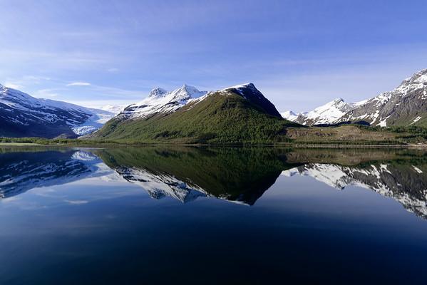 Svartisen Glacier, North Norway.