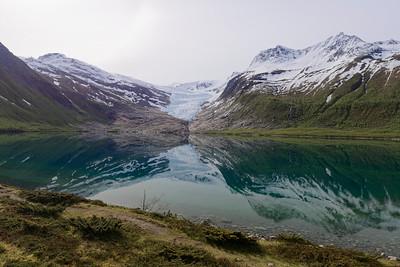Svartisen-Engenbreen Glacier.