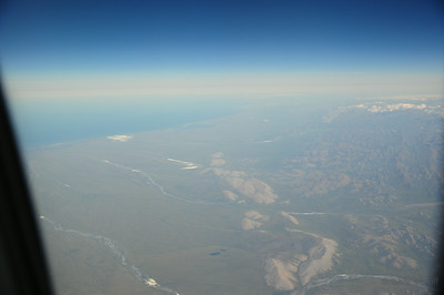 And then over the Coastal Plain of the Arctic National Wildlife Refuge . . .