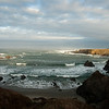 Heavy surf at Jug Handle State Reserve near Fort Bragg.