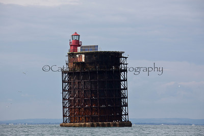 The NAB tower off the south coast of England