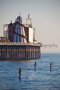 Paddle Boards at Brighton Beach