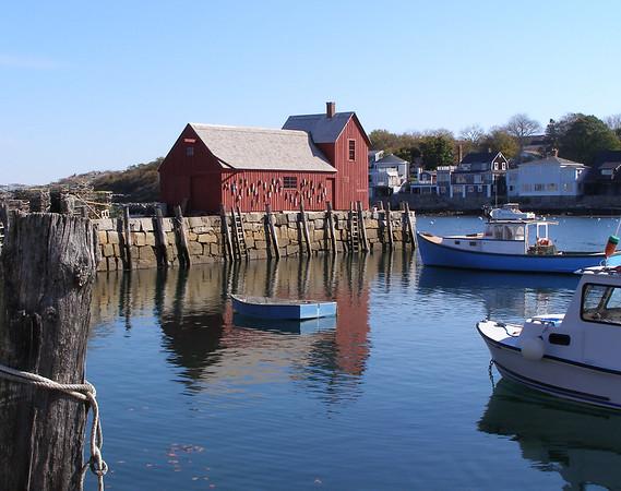 Harbor scene, Rockport, Massachusetts