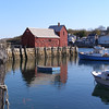 Harbor scene, Rockport, Massachusetts
