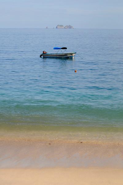 Costa Rica Coast w Skiff