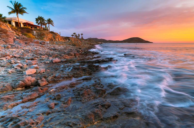 Pastel Baja Sunrise