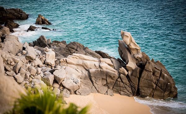 Rocky Baja Seascape