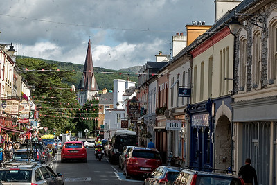 Street in town of Cork