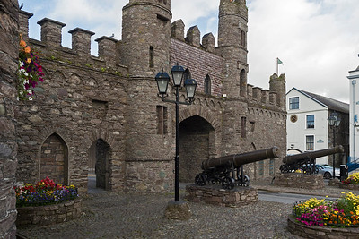 Macroom Castle and Olive Ardilaun's cannons