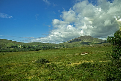 Southeast Ireland countryside