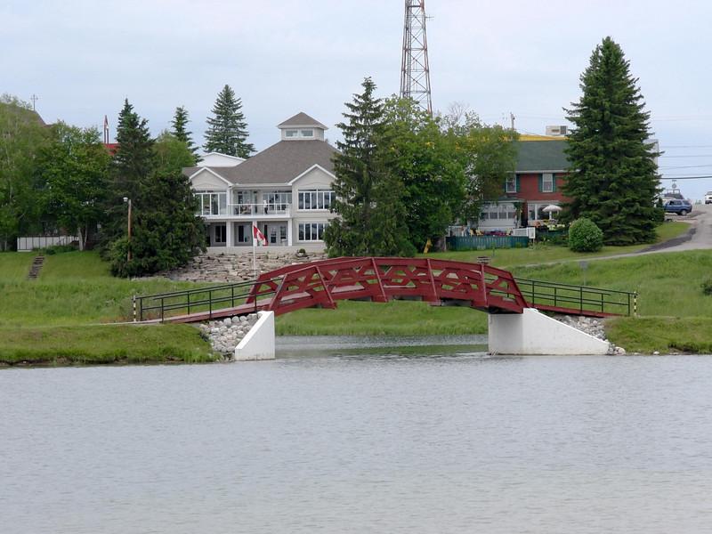 Bridge in Lake Commando, Cochrane