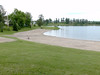 Commando Lake Beach in Cochrane