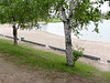 Beach at Lake Commando in Cochrane