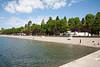 Coeur d'Alene Lake at the city park.