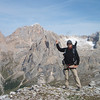 Shiro points Marmolada 3343m south face