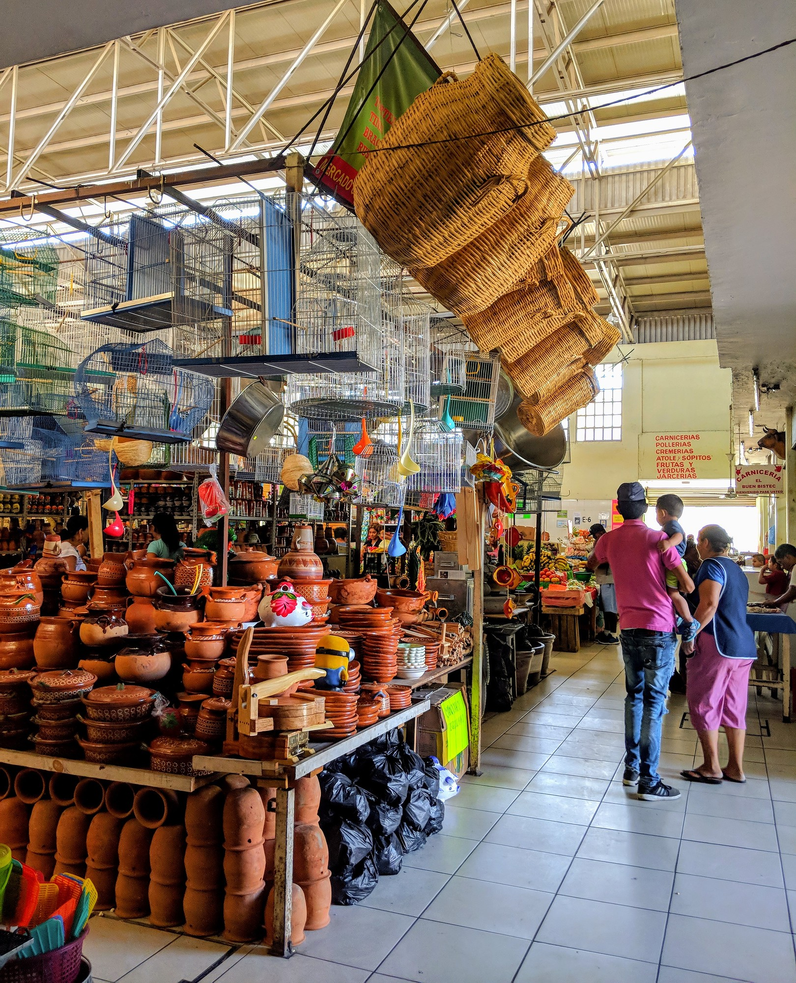 Mercado Constitucion in Colima Mexico is one of the best places to shop in Colima.
