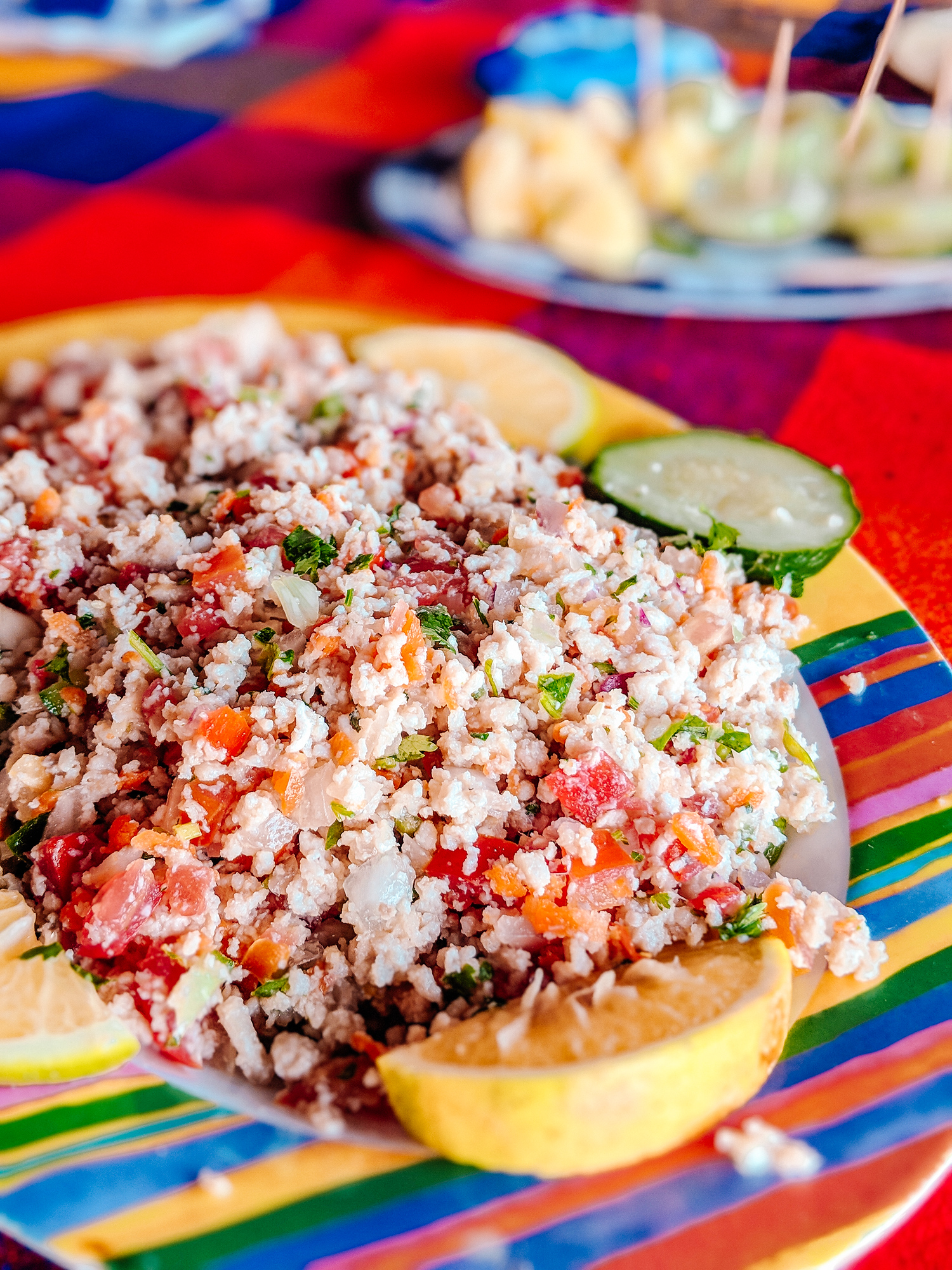 Colima style fish ceviche is a dry ceviche which is so easy to make and perfect for people squeamish of trying raw fish.
