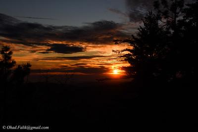 Sunset Siera Nevada