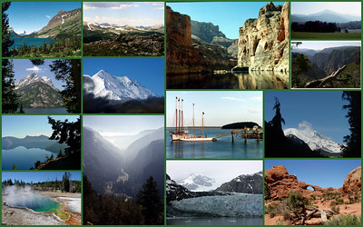 National Parks (25) +3 of 59 - since 1974