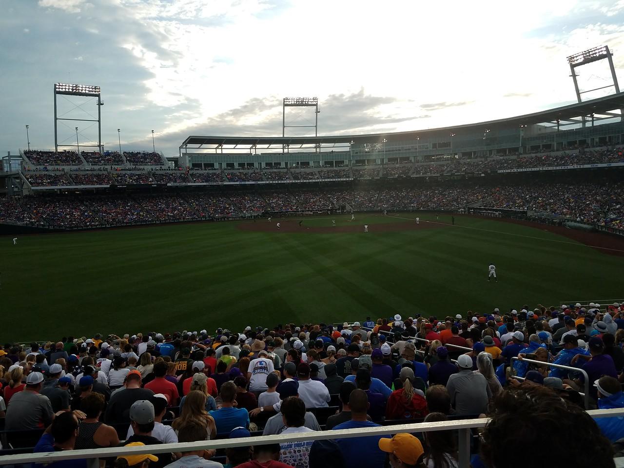 T.D. Ameritrade Park - 2017 College World Series