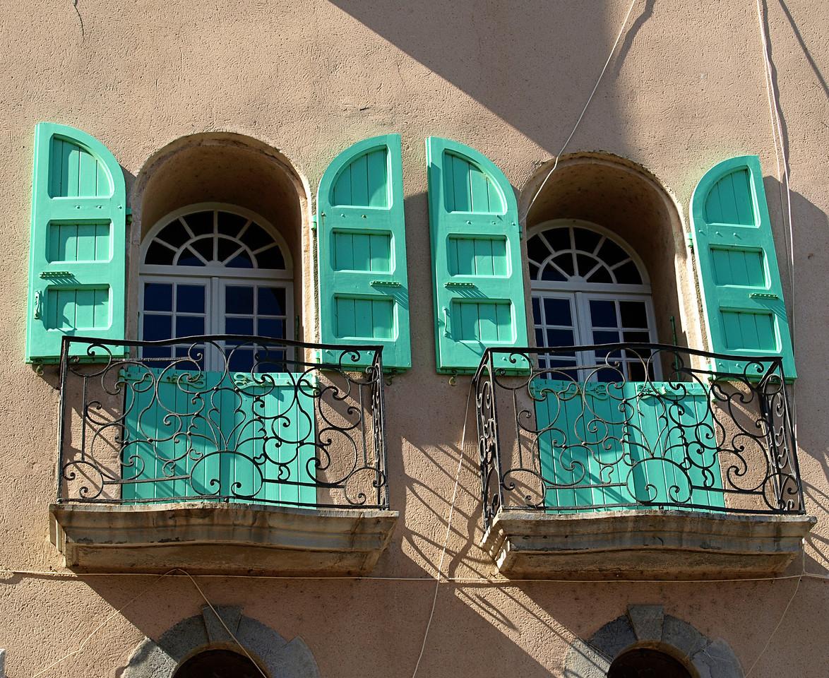 Teal Window Shutters  Order Code: B47