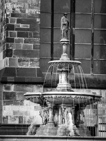 Cologne Cathedral Fountain