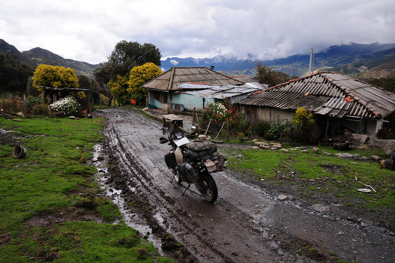 El Cocuy to Guiacan track.  Colombia.
