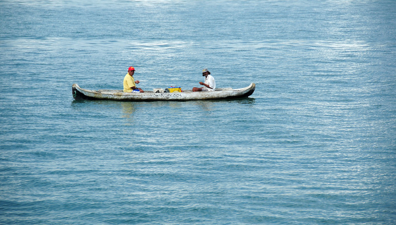 Local fishermen in Cartagena