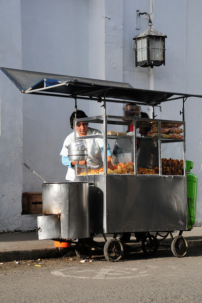 Fast food in Popayan