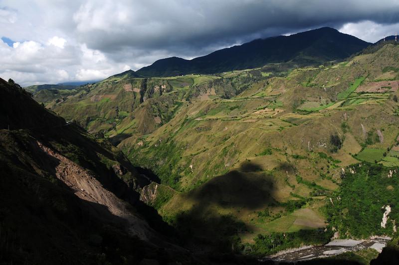 Pasto - Ipiales road