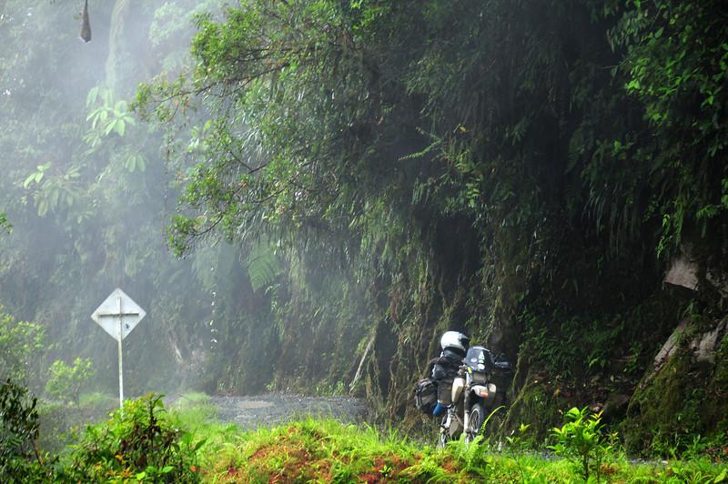 Mocoa - Pasto road,  Colombia.