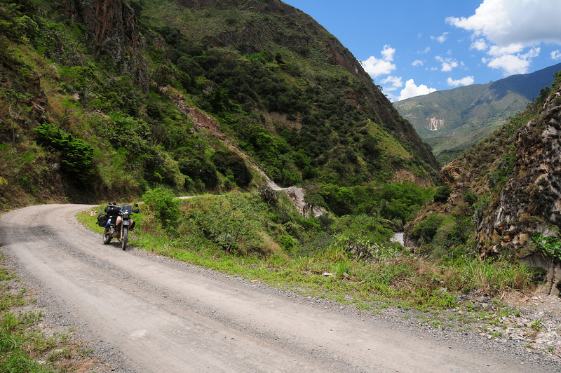 Capitanelo to El Espino road.  Colombia.