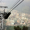 Video of the descent from Monseratte in the cable car, a drop of 2000 feet in about 2 1/2  minutes.