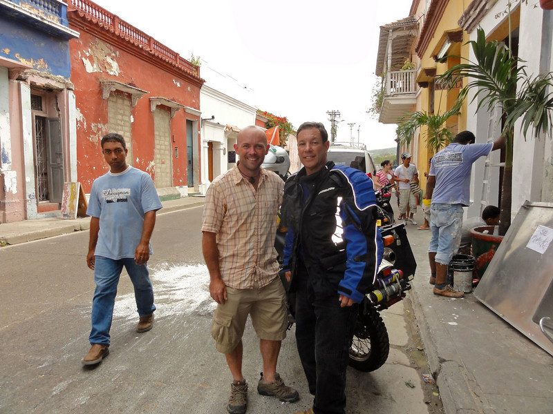 with Danny in Cartagena