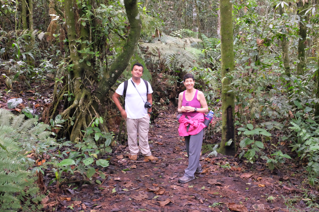 Our guide introduces to today's hike, later to be joined by a local naturalist.